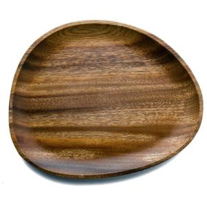 Assiette en bois design