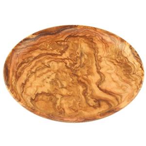 Plat en bois d'olivier