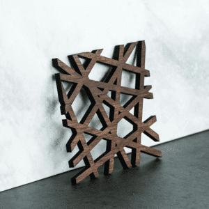 dessous de plat design carré